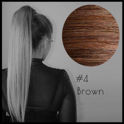 Louvre Malli Brown Ponytail Extensions