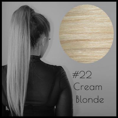 Louvre Malli Cream Blonde Ponytail Extensions
