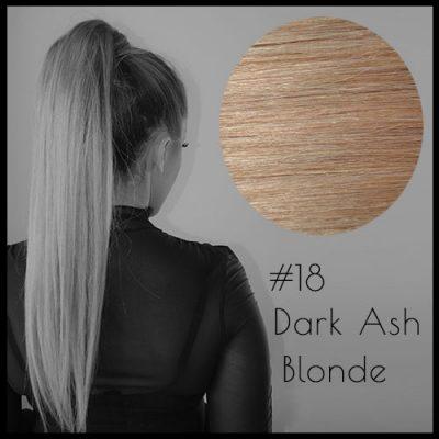 Louvre Malli Dark Ash Blonde Ponytail Extensions