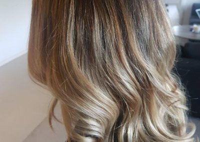 hair colour skin weft hair extensions ghd waves hair styling blow wave ash blonde concave bob