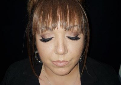 makeup dramatic eyes and lashes