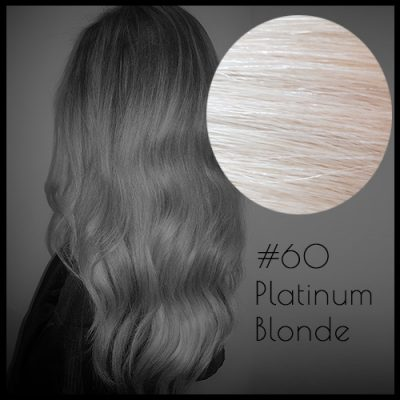 Louvre Malli 20 inch Seamless Clip In Hair Extensions Platinum Blonde