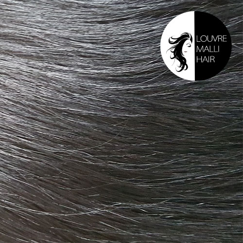 Louvre Malli Black 20 inch Clip In Hair Extensions