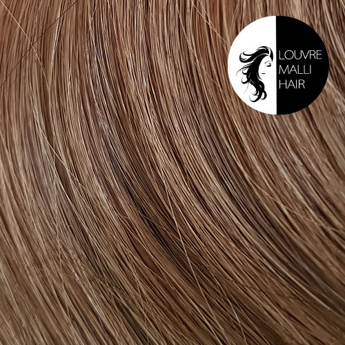 Louvre Malli Chestnut Brown 20 inch Clip In Hair Extensions