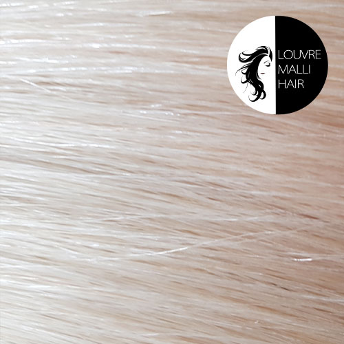 Louvre Malli Platinum Blonde 20 inch Clip In Hair Extensions
