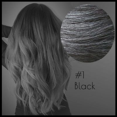 Malli Louvre Skin Weft Hair Extensions 22inch Black