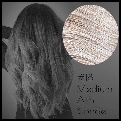 Malli Louvre Skin Weft Hair Extensions 22inch Medium Ash Blonde