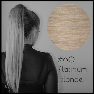 Louvre Malli Ponytail Hair Extensions Platinum Blonde